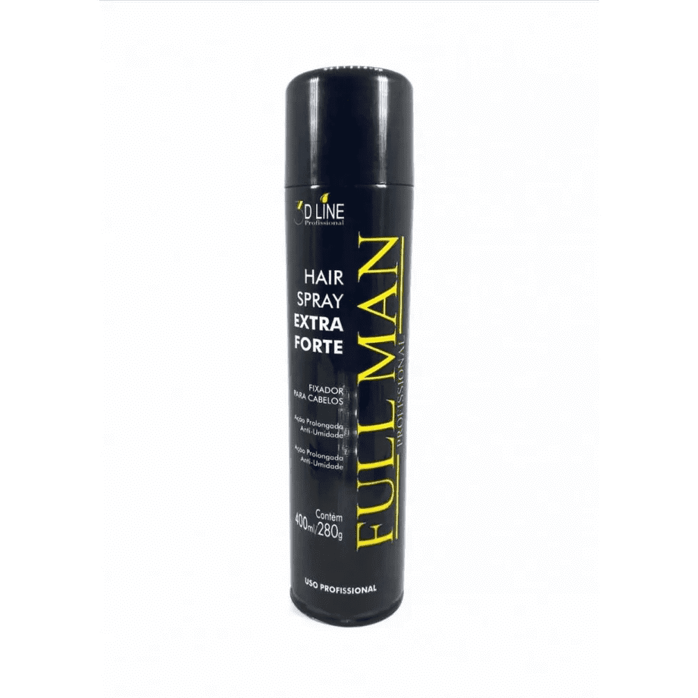 3D - Hair Spray Laquê Fixador 400ml