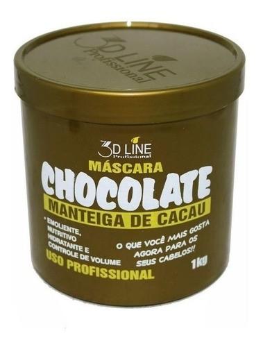 3d - Hidratação Chocolate 1000g