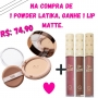 Latika - Powder  Bege Escuro