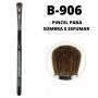 Pincel Para Sombra e Esfumar B906 Linha Black Profissional Macrilan