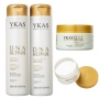 Ykas - Kit DNA Repair Shampoo + Condicionador + Máscara
