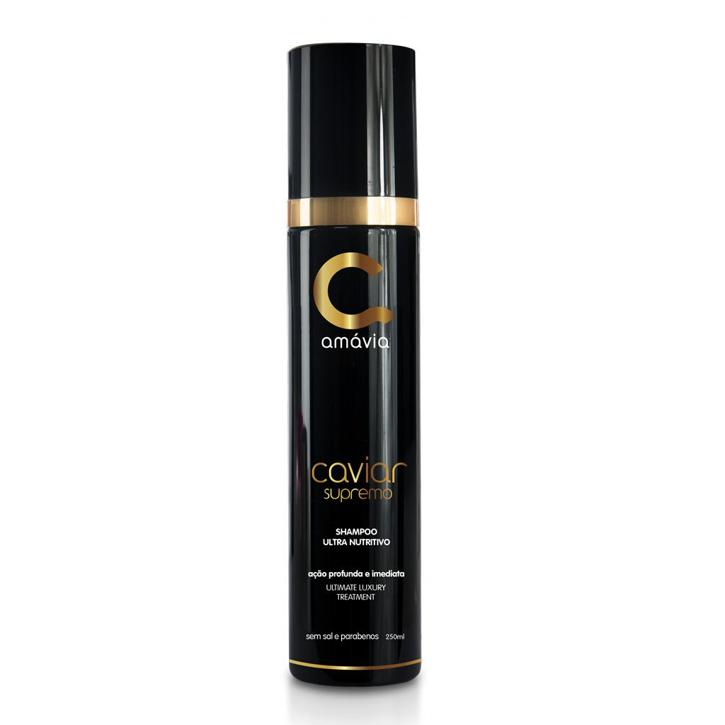 Shampoo Ultra Nutritivo Caviar Supremo 250ml Amávia
