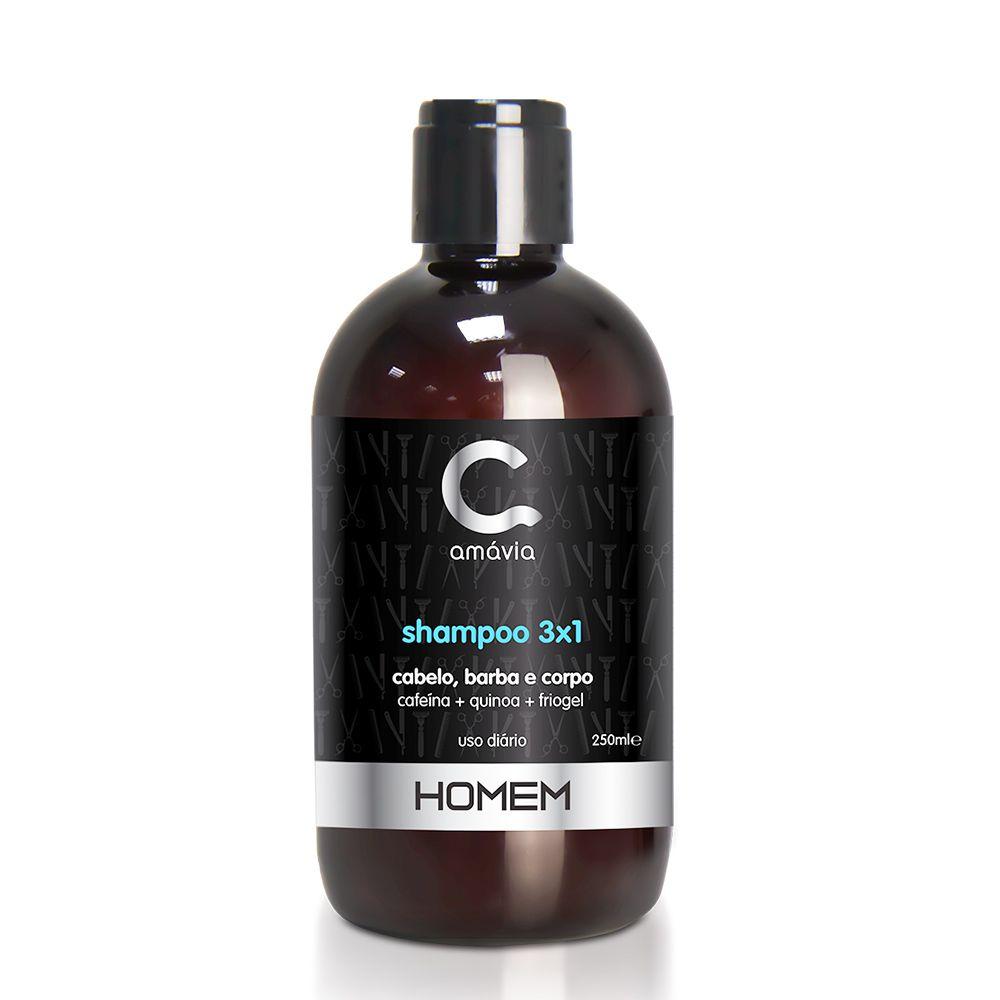Amávia - Homem Shampoo 3 em 1 - 250ml