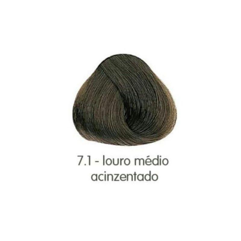 Amávia - Make Color 7.1 LOURO MÉDIO ACINZENTADO 50G