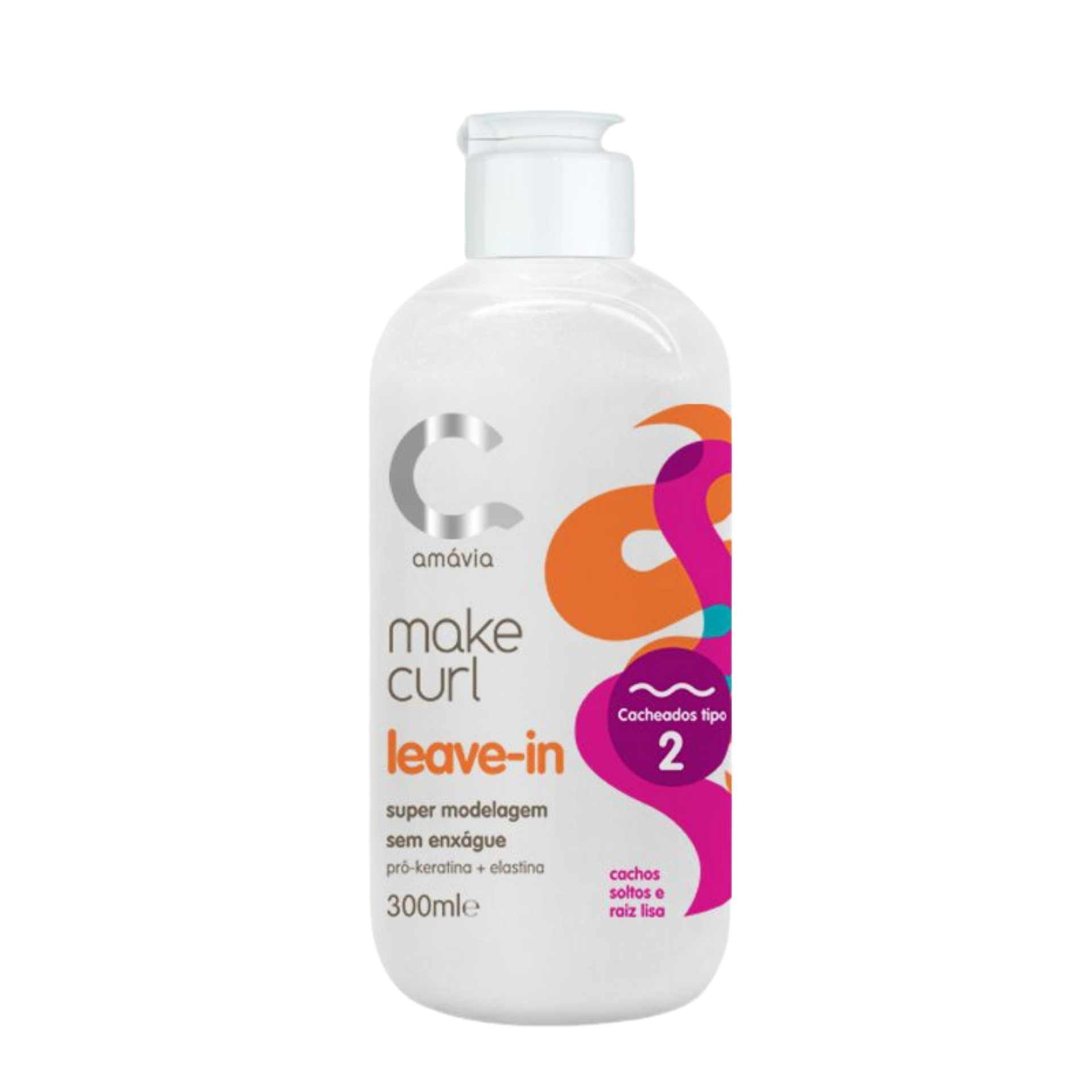 Amávia - Make Curl Leave-in Cacho Tipo 2 - 300ml