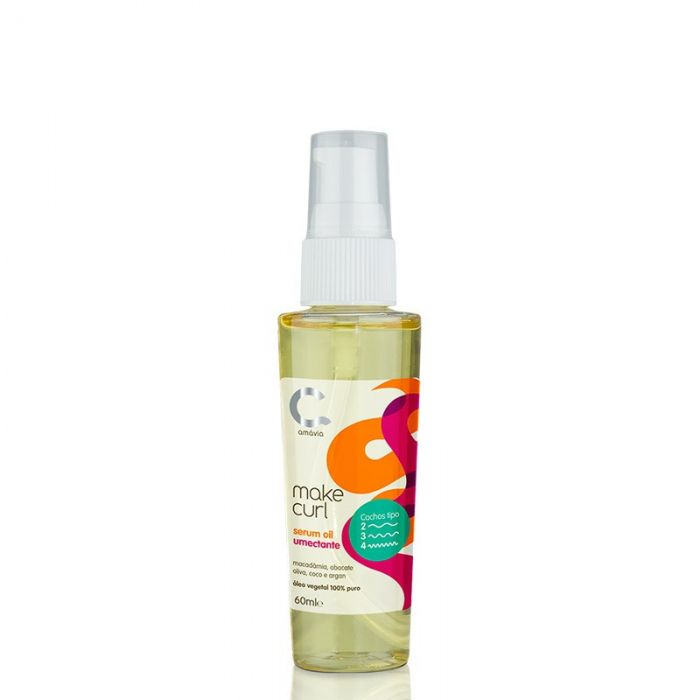 Amávia - Make Curl Oil Umectante 60ml