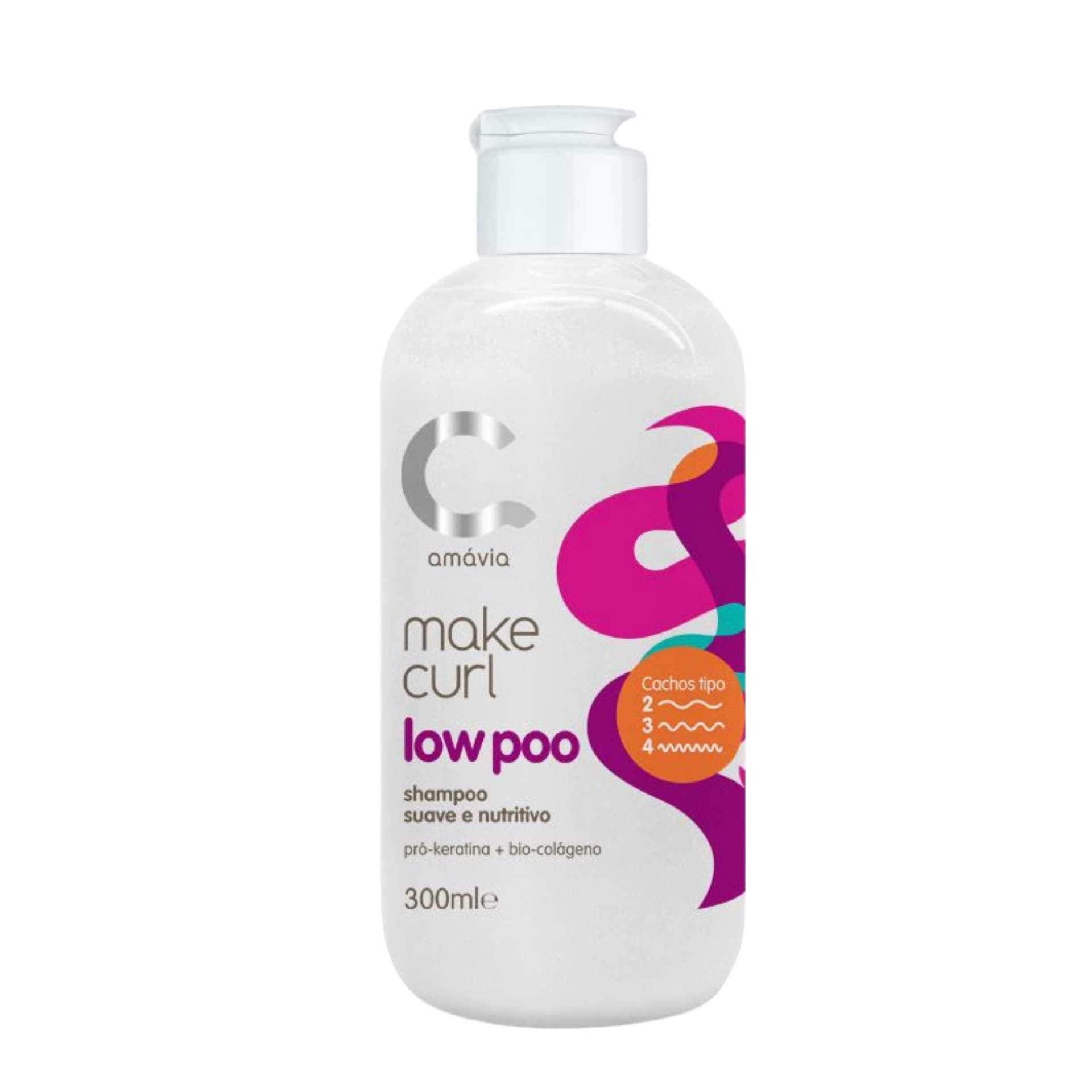 Amávia - Make Curl Shampoo Low Poo 300ml