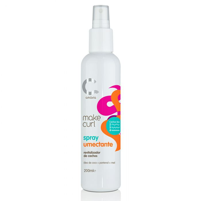 Amávia - Make Curl Spray Umectante 200ml