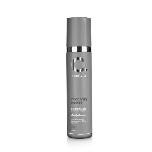 Shampoo Cauterização Disciplinante Step 1 Nano Frizz Amávia 200ml