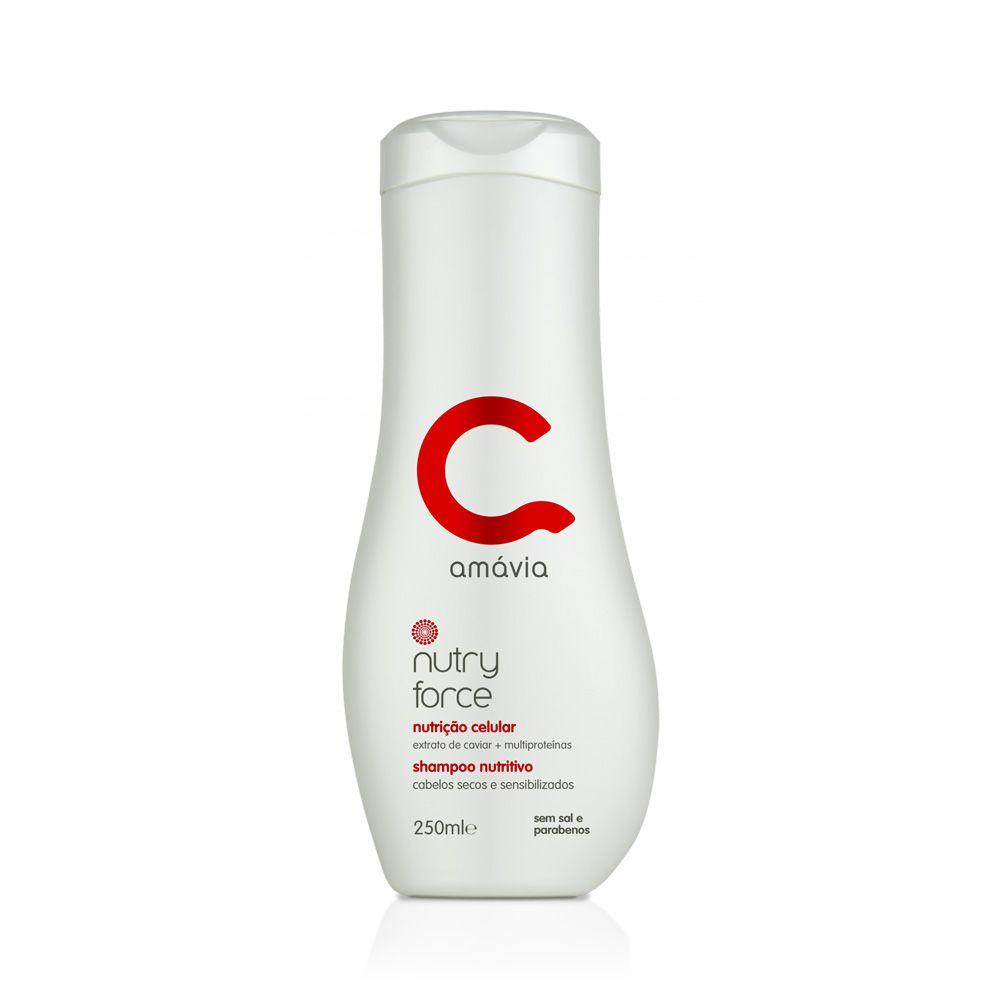 Shampoo Nutritivo Nutry Force Amávia 250ml