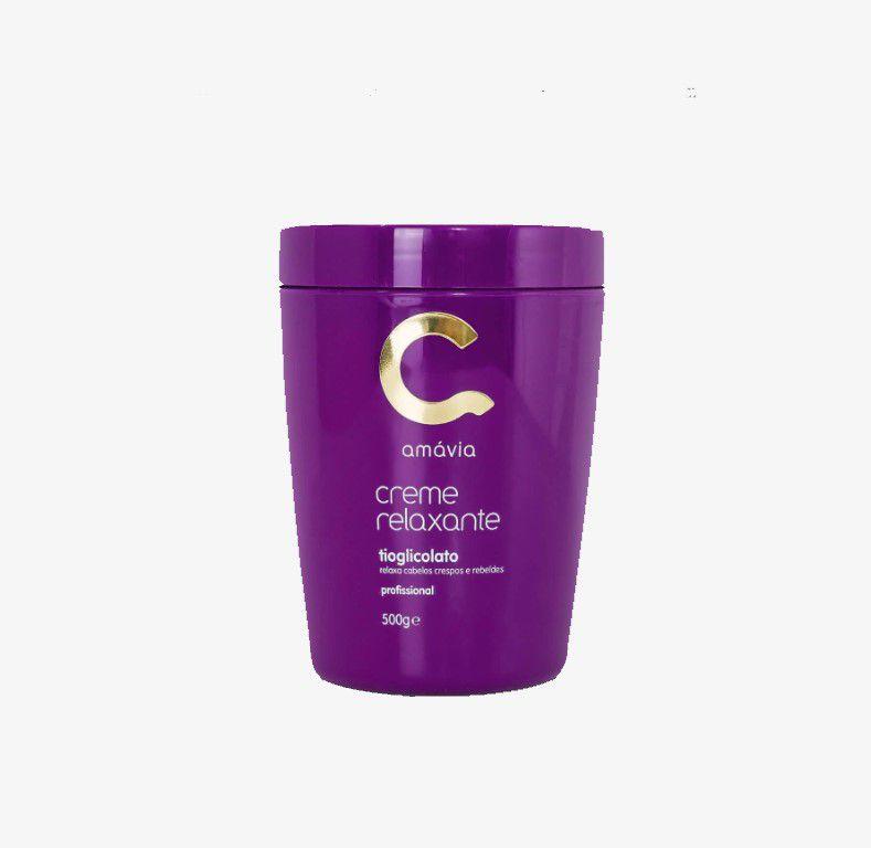Creme Relaxante Tioglicolato Amavia 450g
