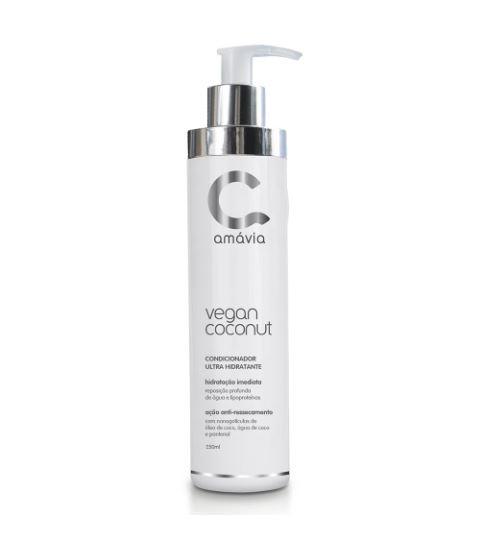 Condicionador Ultra Hidratante Vegan Coconut Amávia 250ml