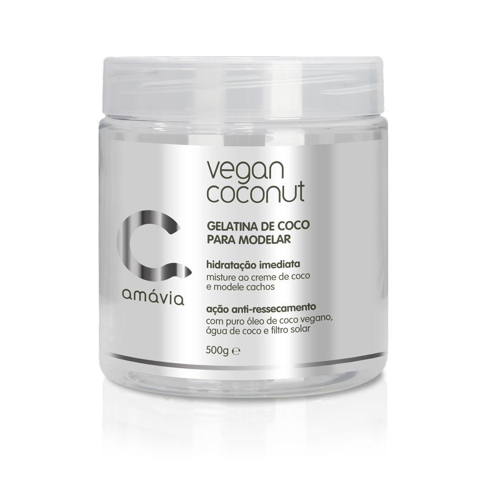 Gelatina de Coco para Modelar Vegan Coconut Amávia 500g