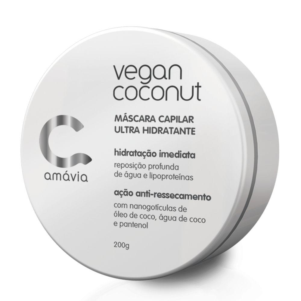 Máscara Ultra Hidratante Vegan Coconut 200g
