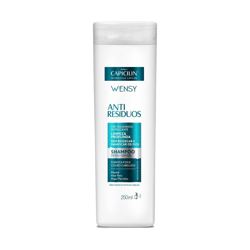 Capicilin - ANTI-RESÍDUOS - Shampoo 250ml