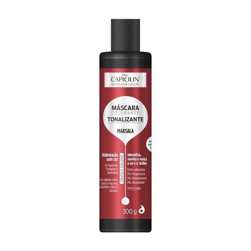 Capicilin - MÁSCARA COLORANTE - Tonalizante Marsala 300g