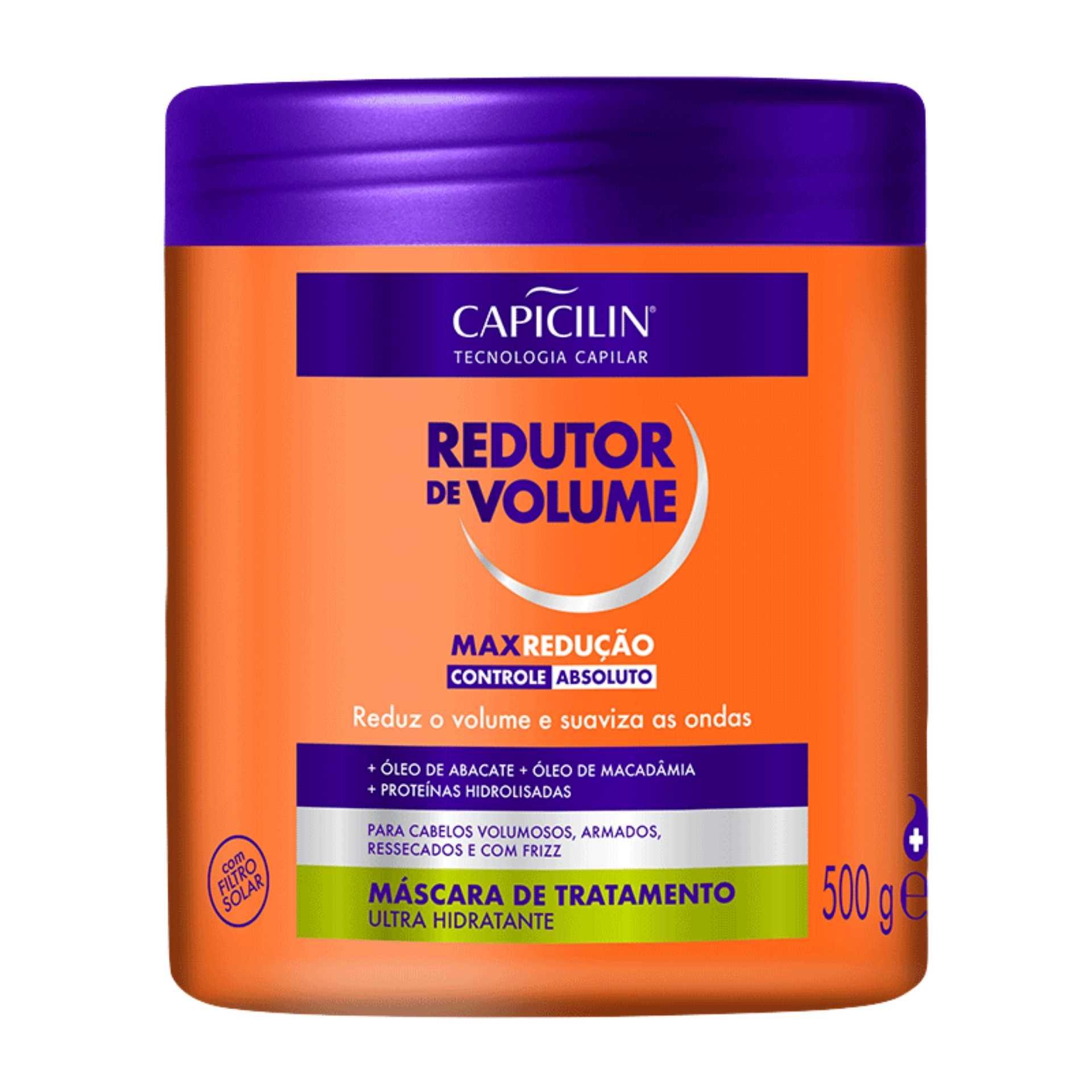 Capicilin - REDUTOR DE VOLUME - Máscara 500g