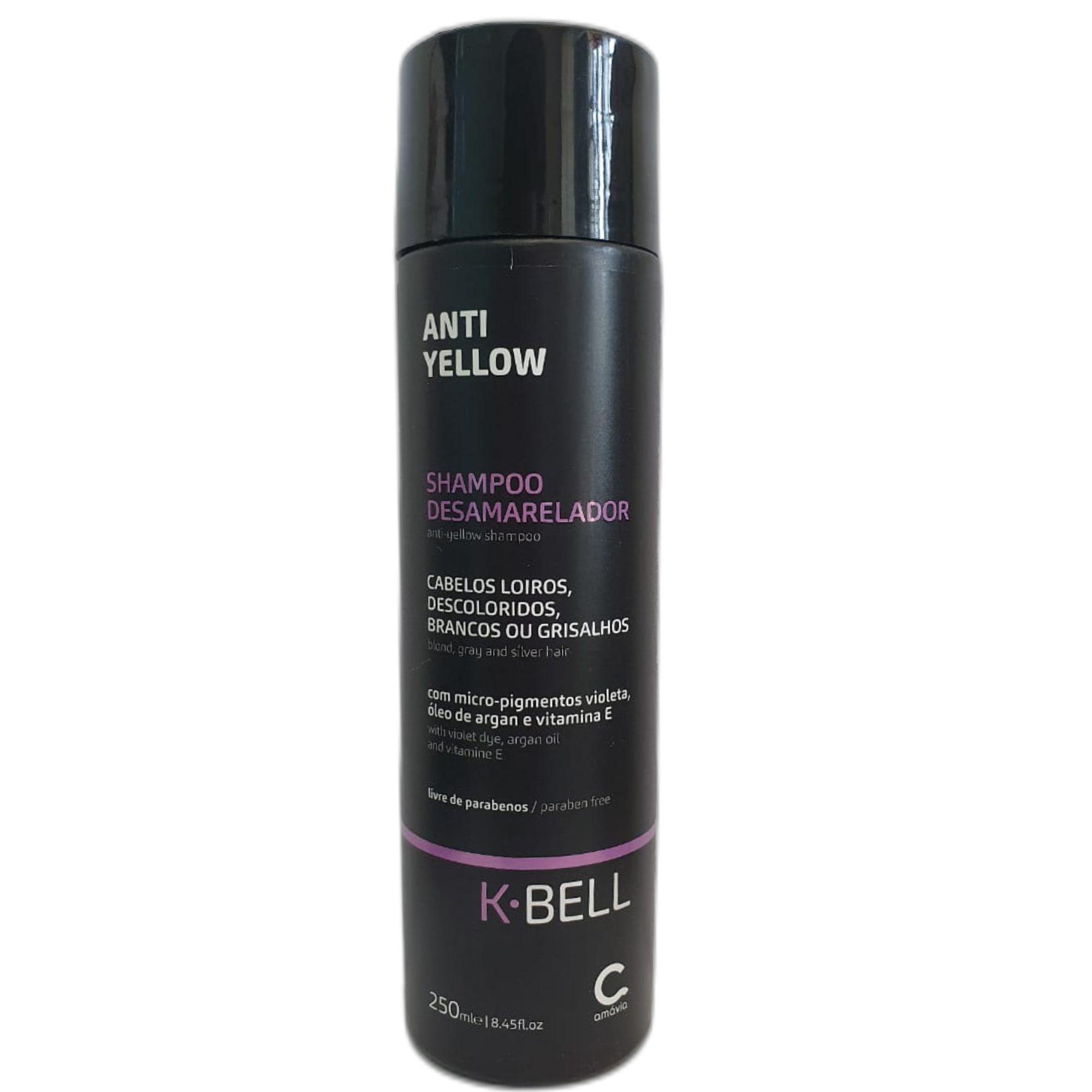 KBELL - Anti Yellow Shampoo Desamarelador 250ml