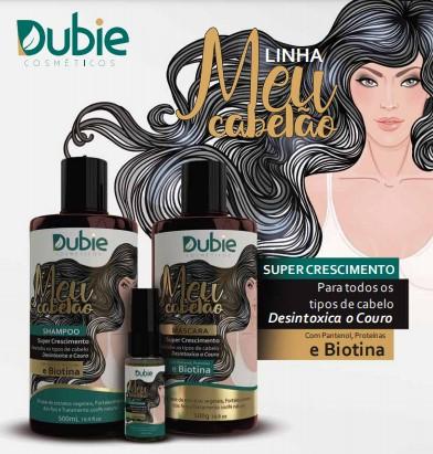 Kit Meu Cabelão Super Crescimento Dubie ( Shampoo + Máscara + Tônico)