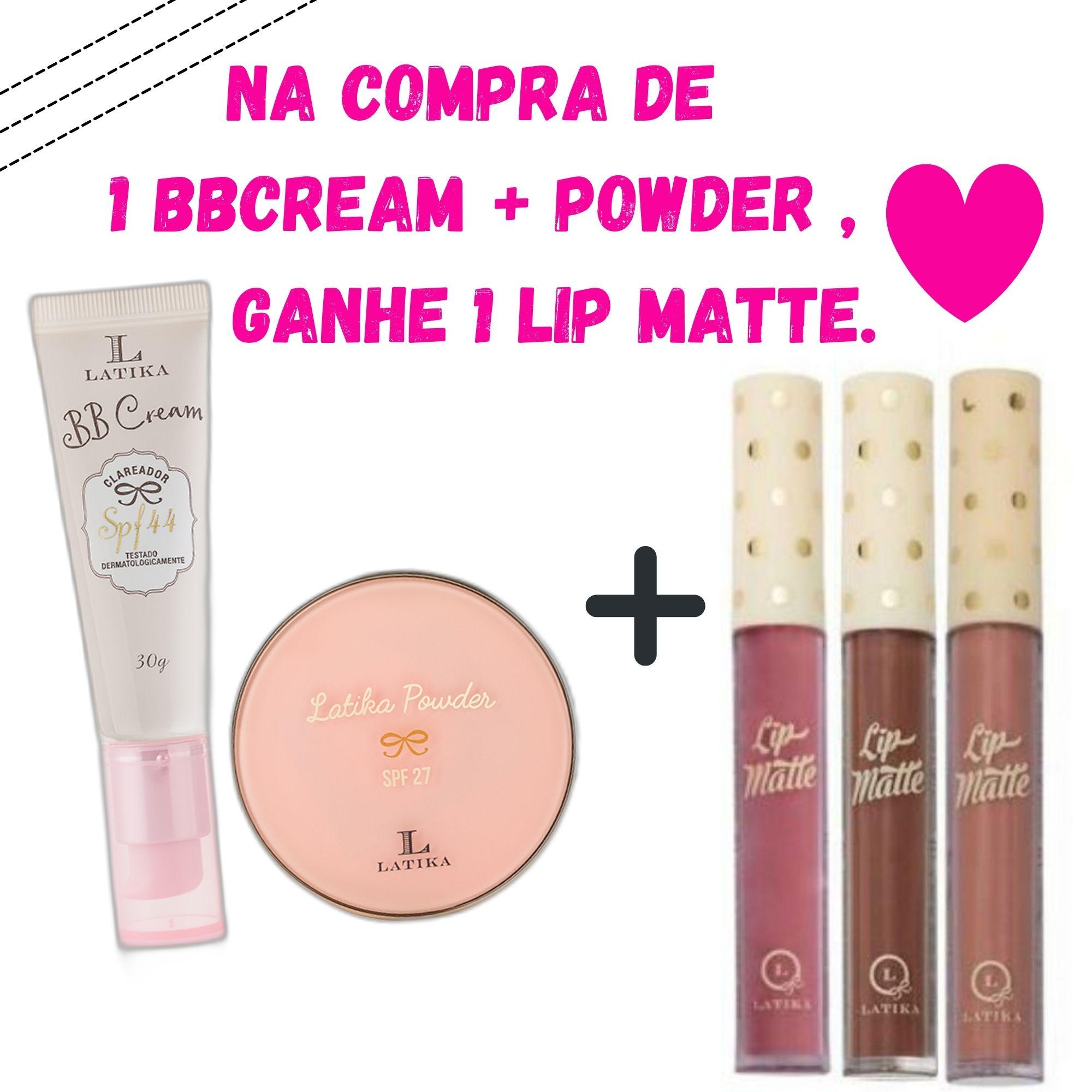 Latika Powder Bege Claro + BB Cream Bege Claro