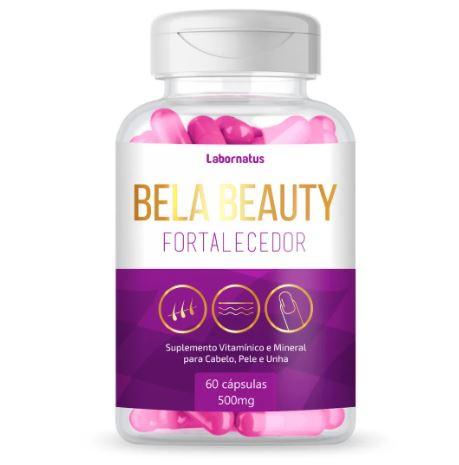LB - BELA BEAUTHY FORTALECEDOR P/ CABELO PELE E UNHAS 60caps