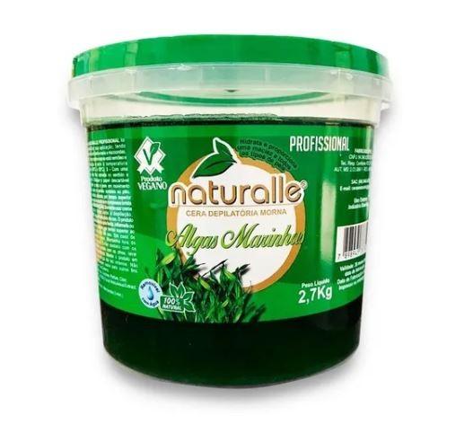 Naturalle - Cera Depilatória - Algas 2700g