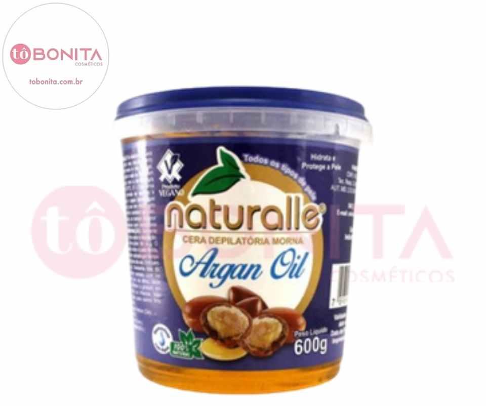 Naturalle - Cera Depilatória - Argan 600g