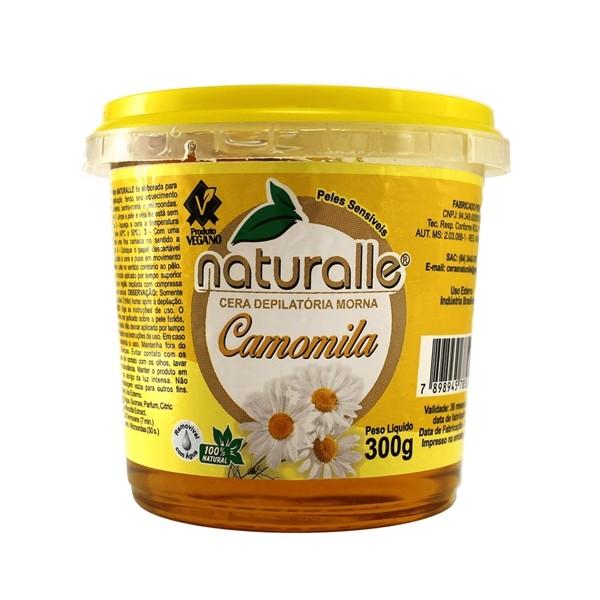 Naturalle - Cera Depilatória - Camomila 300g