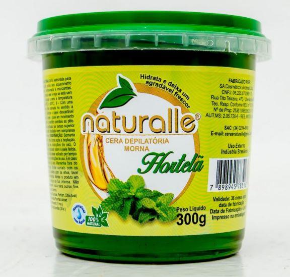 Naturalle - Cera Depilatória - Hortelã 300g