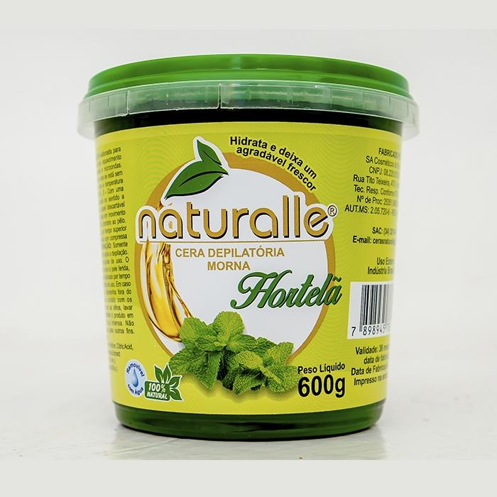 Naturalle - Cera Depilatória - Hortelã 600g