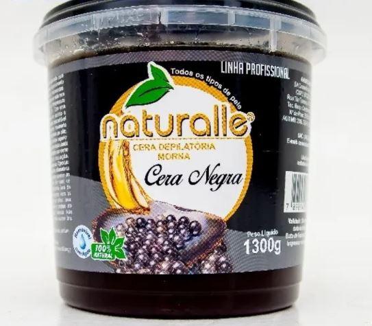 Naturalle - Cera Depilatória - Negra 1300g