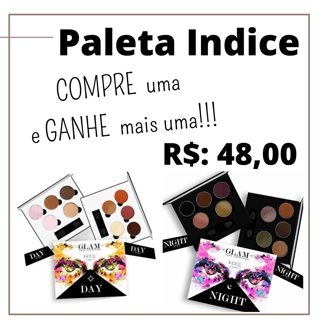 Paleta de Sombra Glam Eyes - Compre 1, Leve 2!!!!