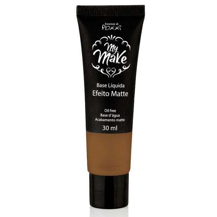 Pozzi - Base Liquida Matte My Make N- 160 - Escuro
