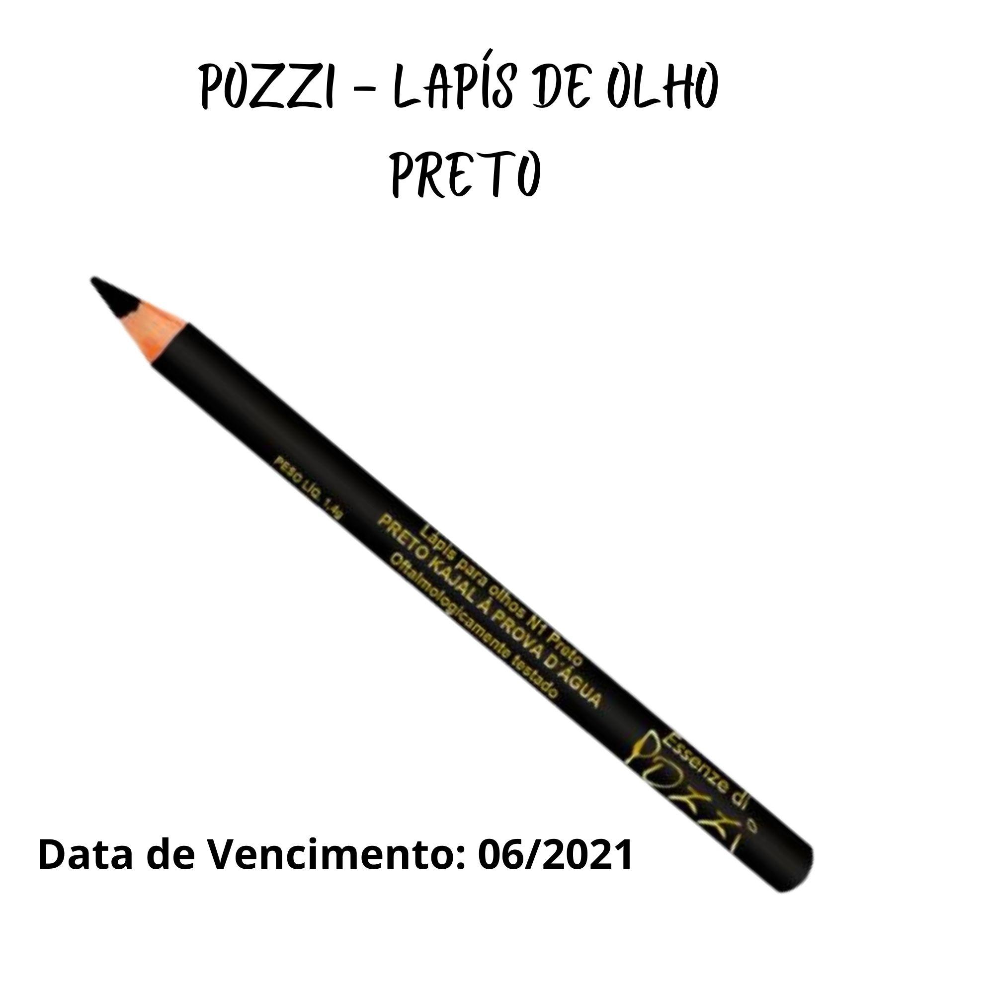 Pozzi -Lápis Kajal Á Prova D´Água N° 10