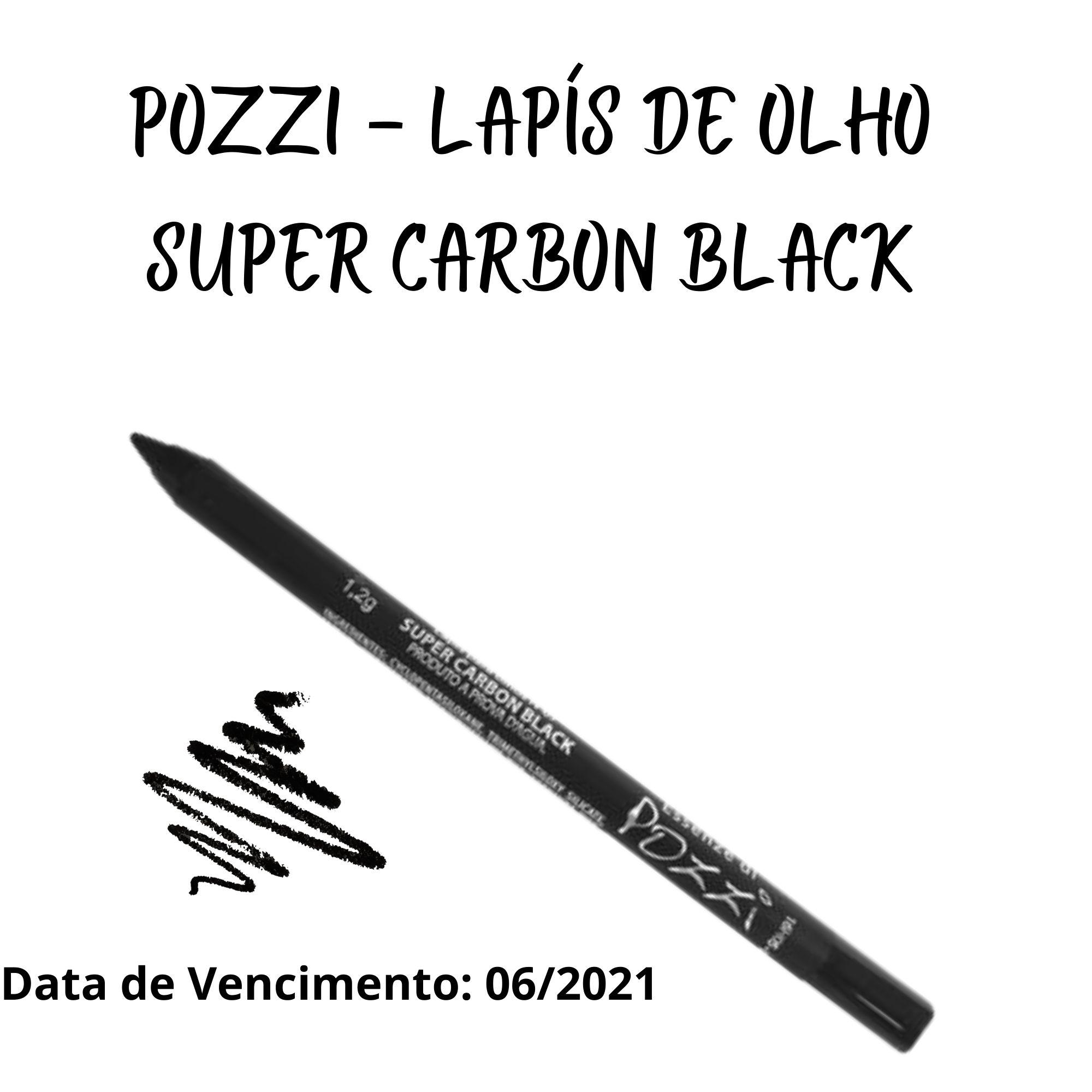 Pozzi - Lápis Super Carbon BlacK - VENCIMENTO 06/2021