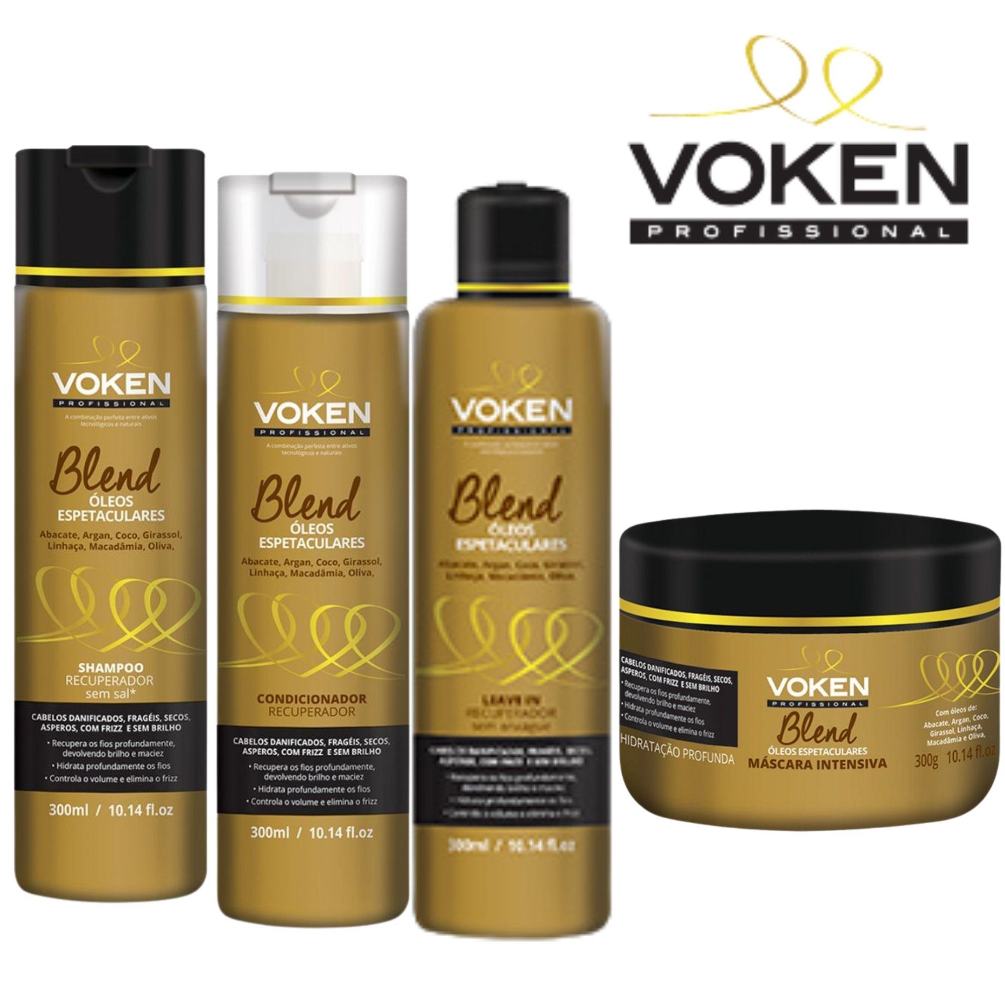 Voken - Kit Blend Óleos Espetaculares