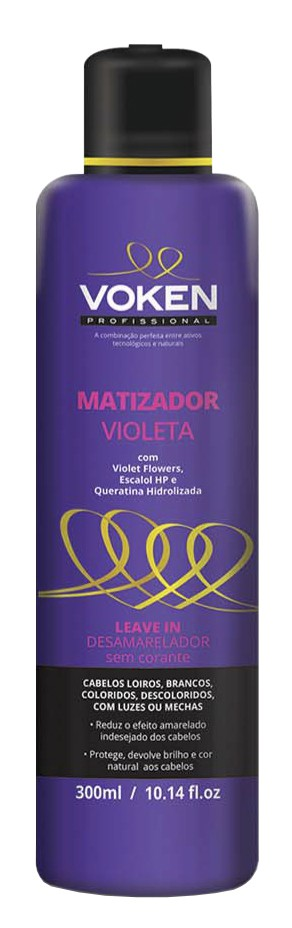 Voken - Matizador Violeta Leave-in 300ml