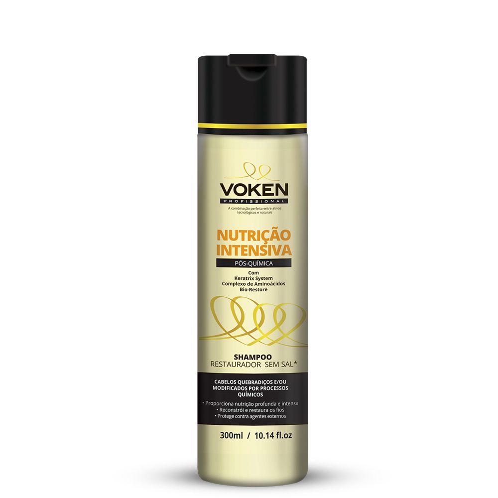 Shampoo Nutrição Intensiva 300ml Voken