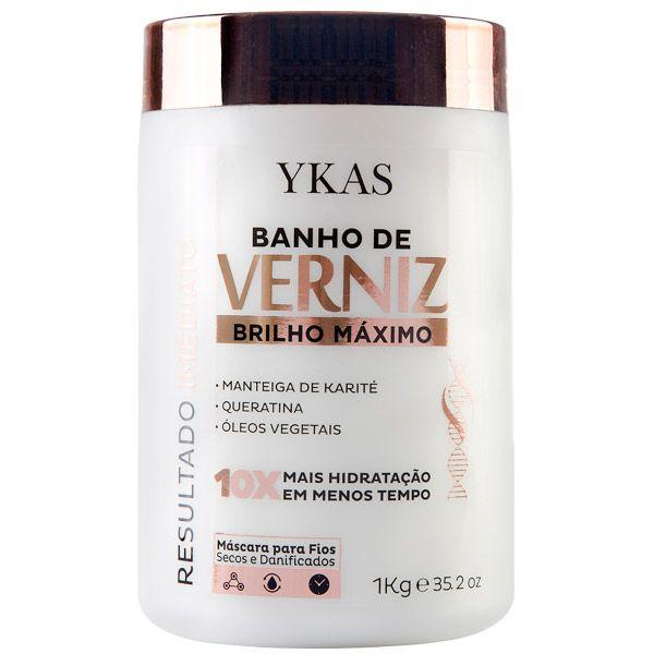Ykas - Banho de Verniz Máscara 1KG
