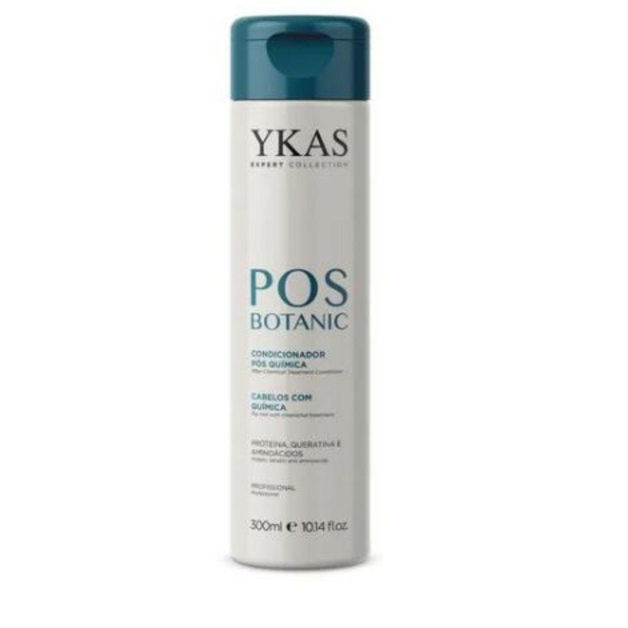 Ykas Botanic Condicionador  Pós Quimica 300ml