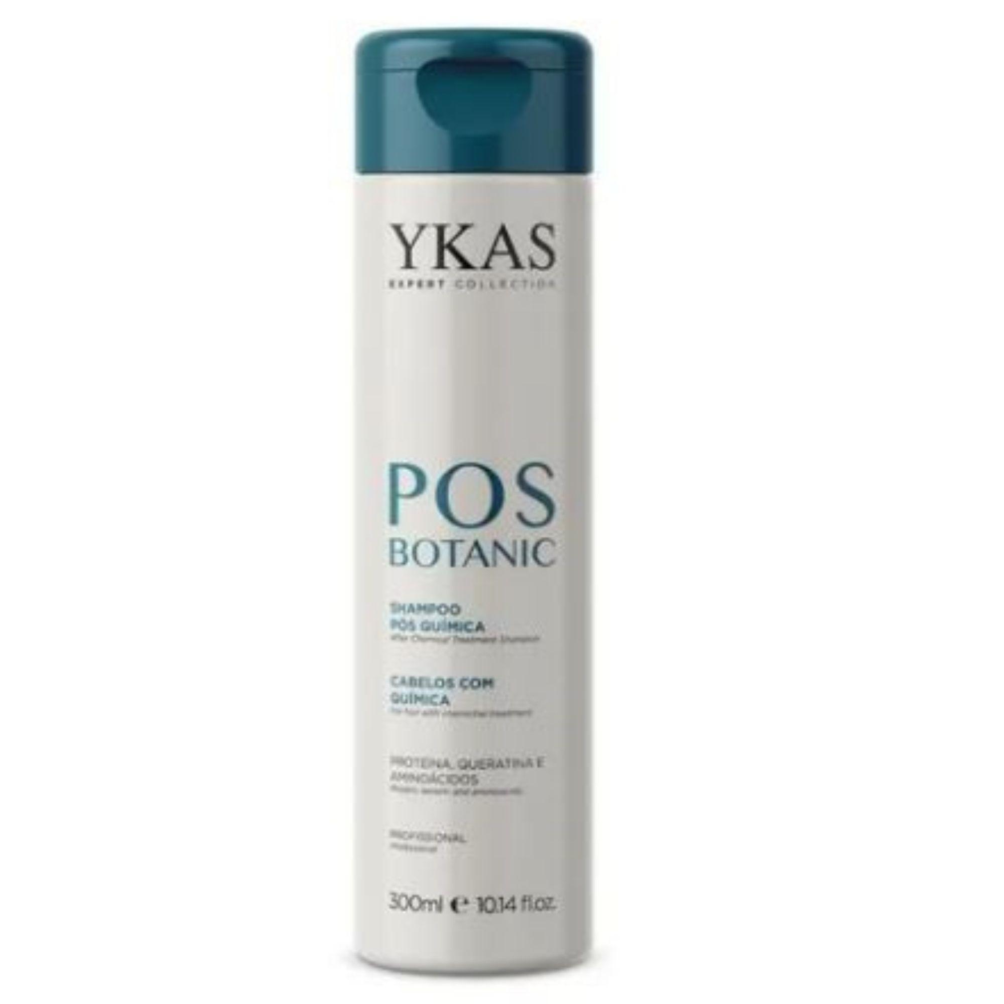 Ykas Botanic  Pós Quimica Shampoo 300ml