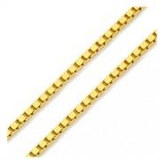 Corrente Veneziana em Ouro 18k Amarelo com 40cm