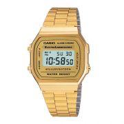 Relógio Casio Unissex Digital Vintage A168WG-9WDF