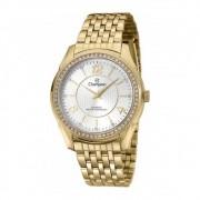 Relógio Champion Feminino Dourado com Cristais CN29632W