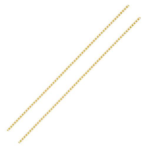 Corrente Veneziana com 40cm em Ouro 18K Amarelo