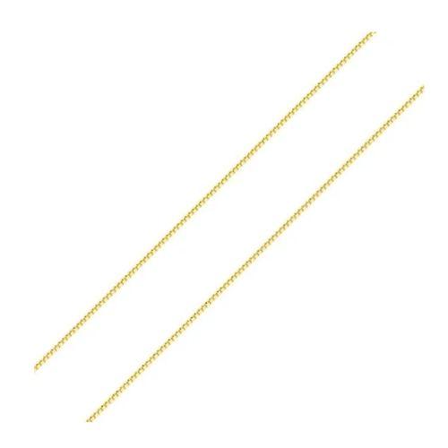 Corrente Veneziana com 50cm em Ouro 18K Amarelo