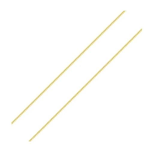 Corrente Veneziana em Ouro 18k Amarelo com 45cm - PMR45/100
