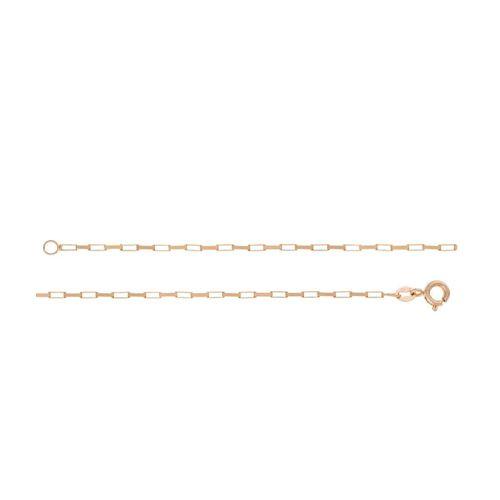 Corrente Masculina Veneziana Longa em Ouro 18K Amarelo com 70cm