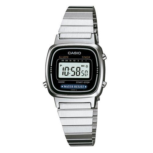 Relógio Casio Feminino Digital Vintage LA670WA-1DF