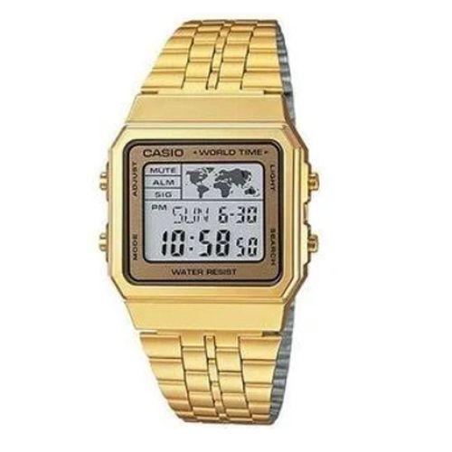 Relógio Casio Unissex Digital Vintage A500WGA-1DF